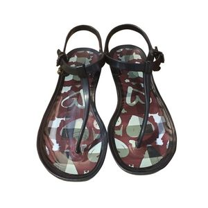 Burberry Jelly thong sandals